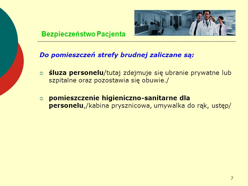 58 Bezpieczeństwo Pacjenta JAKOŚĆ PERSONELU MEDYCZNEGO