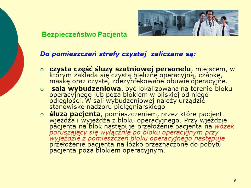 60 Bezpieczeństwo Pacjenta JAKOŚĆ APARATURY MEDYCZNEJ