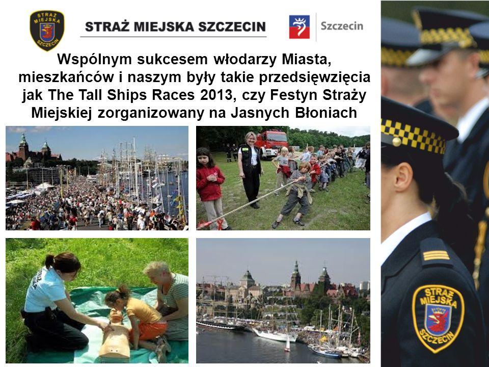 Wspólnym sukcesem włodarzy Miasta, mieszkańców i naszym były takie przedsięwzięcia jak The Tall Ships Races 2013, czy Festyn Straży Miejskiej zorganizowany na Jasnych Błoniach