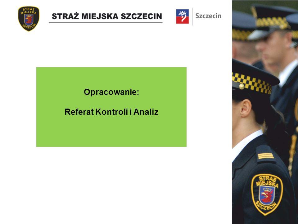 Opracowanie: Referat Kontroli i Analiz