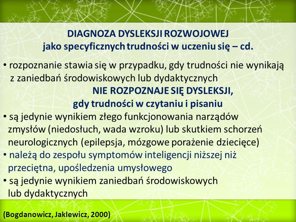 LITERATURA: M.Bogdanowicz (1996).