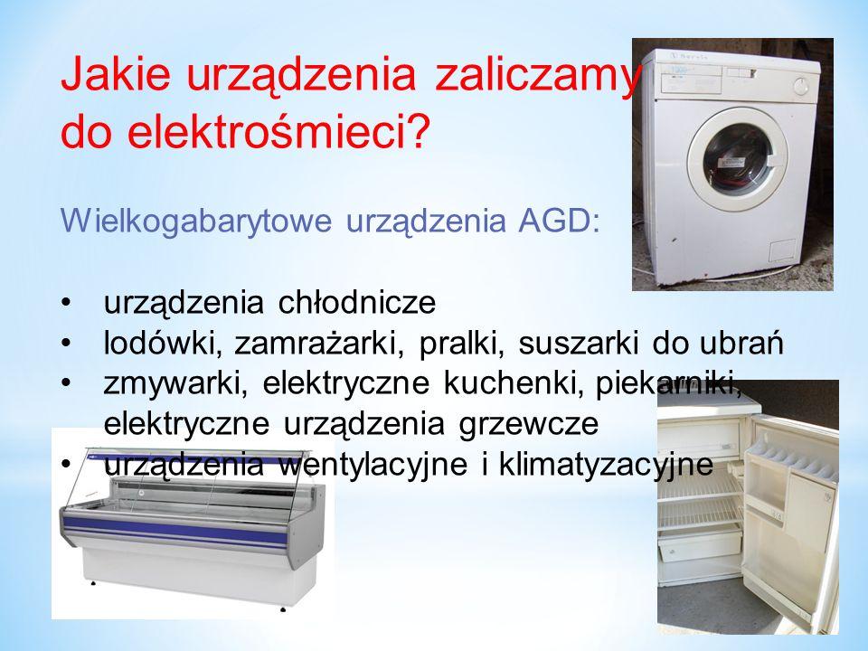 O zakazie wyrzucania elektrośmieci do śmietnika informuje znak przekreślonego kontenera, umieszczony na urządzeniach elektrycznych i elektronicznych.