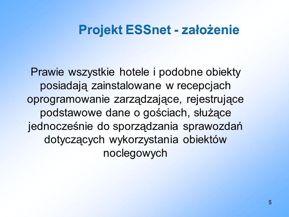 5 Prawie wszystkie hotele i podobne obiekty posiadają zainstalowane w recepcjach oprogramowanie zarządzające, rejestrujące podstawowe dane o gościach,