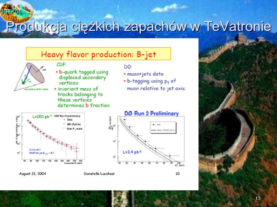 13 Produkcja ciężkich zapachów w TeVatronie
