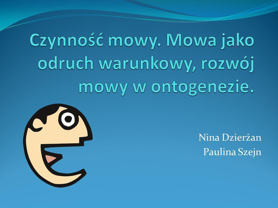 Nina Dzierżan Paulina Szejn