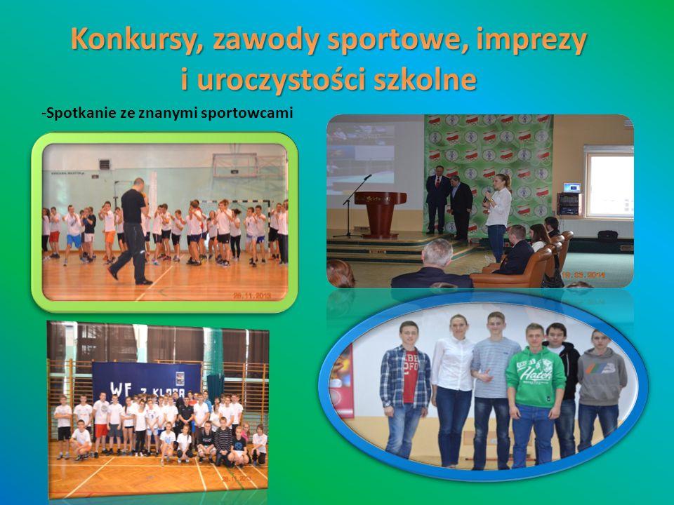 -Spotkanie ze znanymi sportowcami