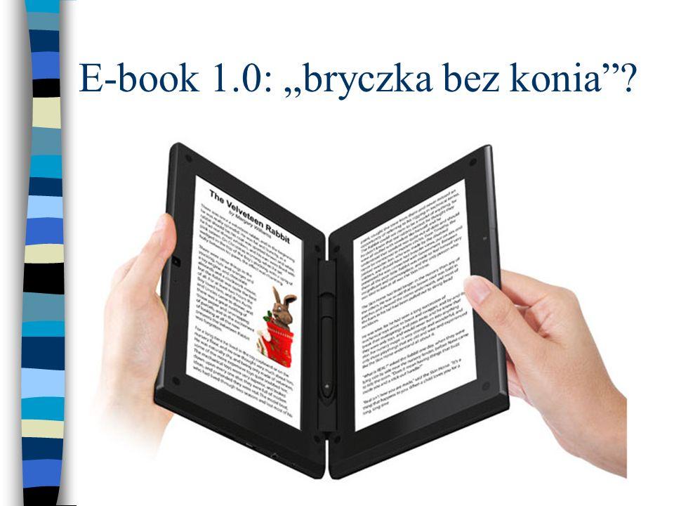 E-book 1.0: bryczka bez konia?