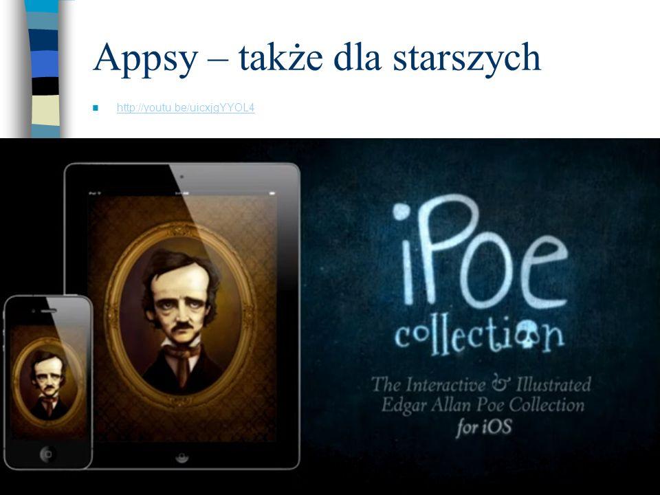 Appsy – także dla starszych http://youtu.be/uicxjgYYOL4