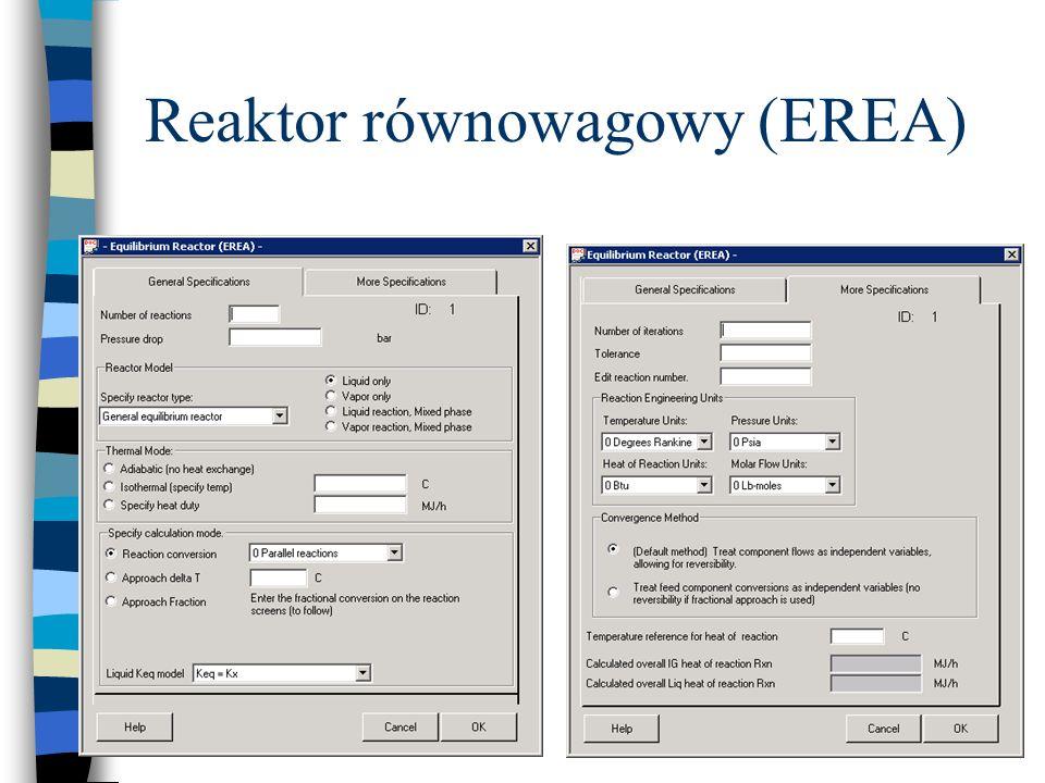 Reaktor równowagowy (EREA)