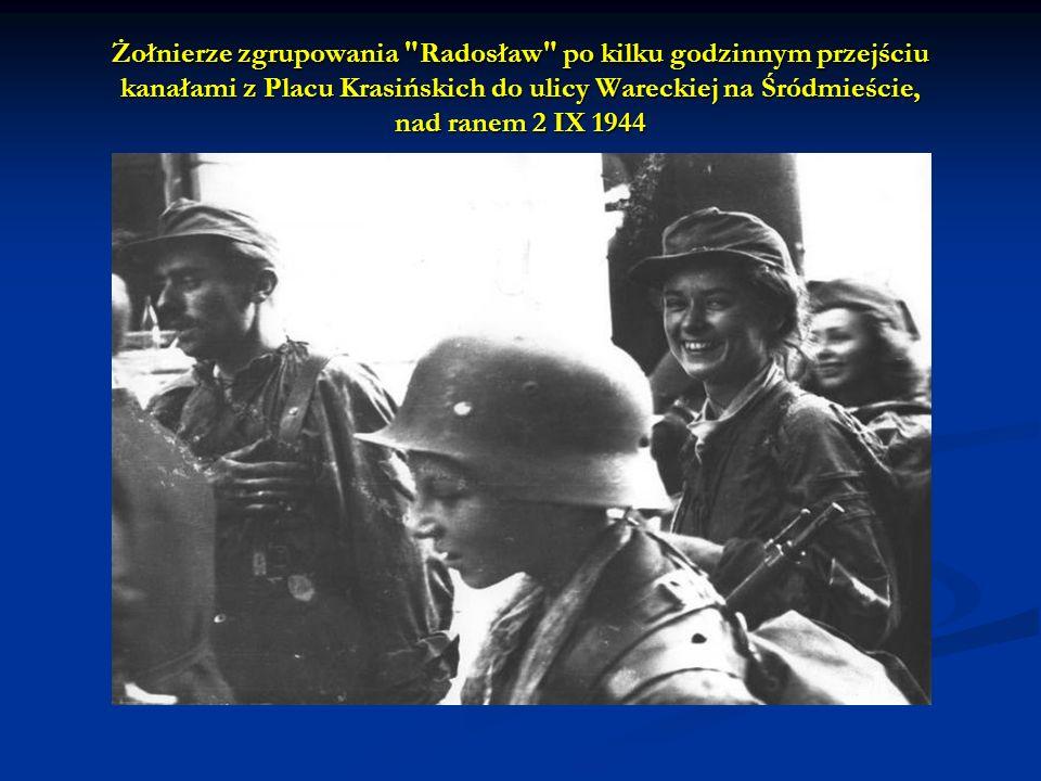Żołnierze zgrupowania