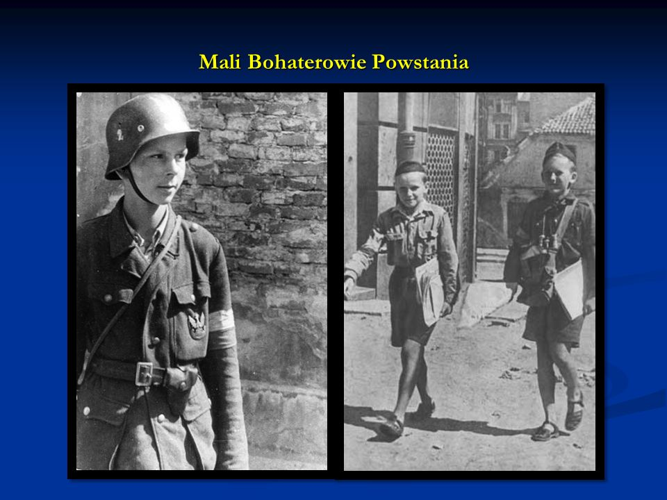 W dniu wybuchu Powstania Warszawskiego SS-Reichsführer Heinrich Himmler, powołując się na dyspozycję Hitlera, wydał rozkaz zniszczenia miasta i wyniszczenia ludności cywilnej Warszawy.