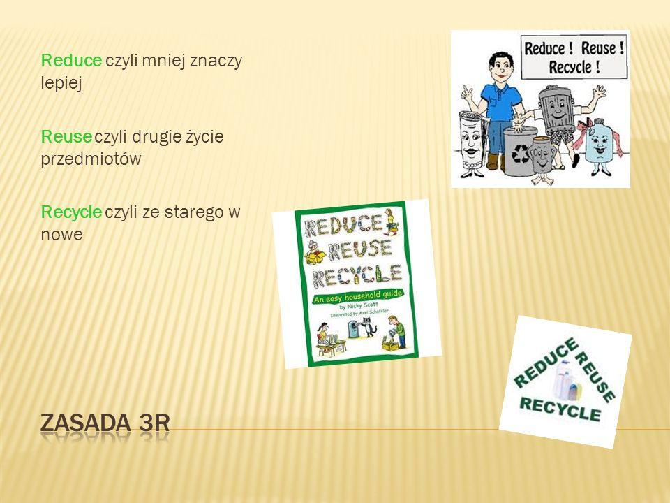 W kuchni Sprawiedliwy handel Żywność lokalna i sezonowa W łazience Ekokosmetyki, zielona chemia Prysznic zamiast kąpieli W śmietniku Śmieci gdzie trzeba 5 R (refuse, return, reuse, recycle, repair) W domu i biurze Mniej drukowania Papier z odzysku Za broszury dziękujemy Wtyczka z kontaktu Zgaszone światło Uszczelnione okna i drzwi Energooszczędne żarówki i sprzęty