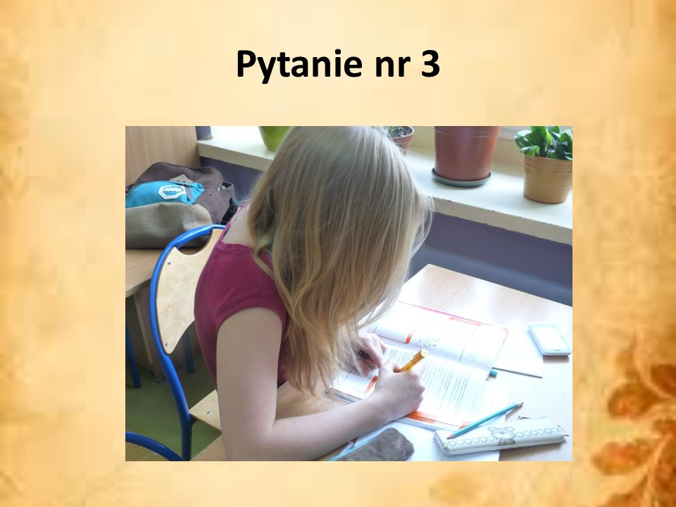 Pytanie nr 3