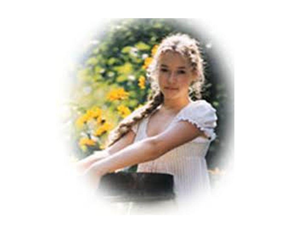 Stała młoda dziewczyna. - Białe jej ubranie Wysmukłą postać tylko aż do piersi kryje, Odsłaniając ramiona i łabędzią szyję.