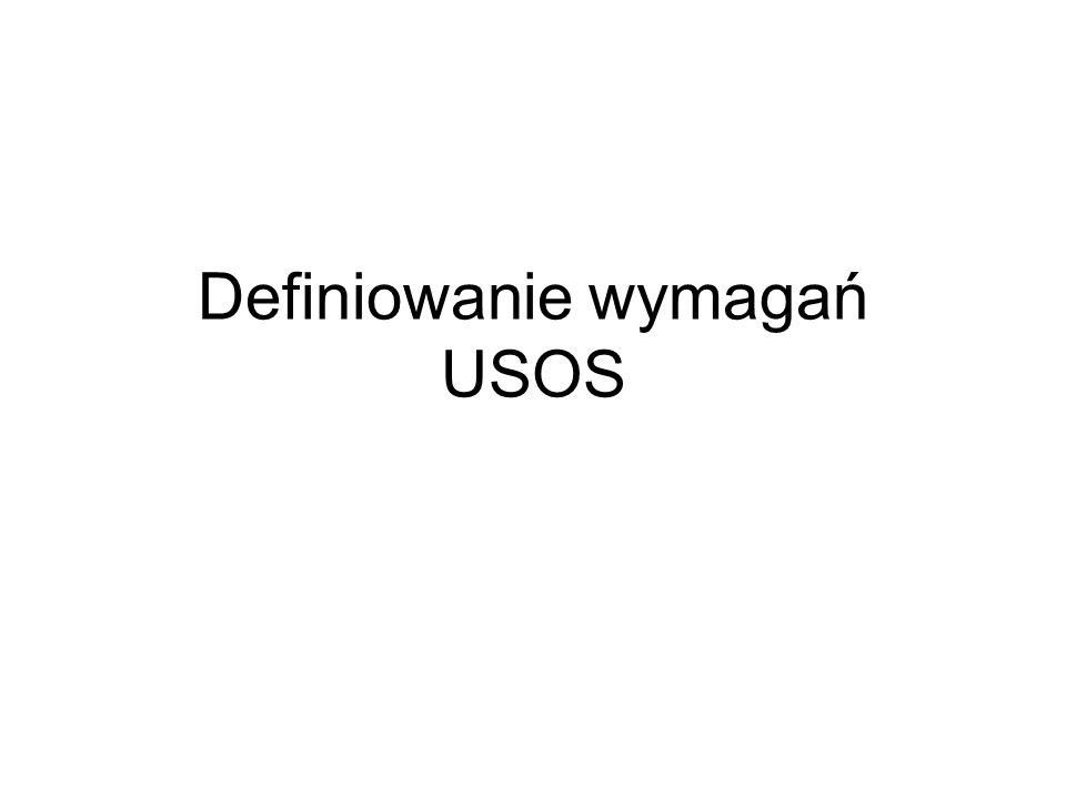 Definiowanie wymagań USOS