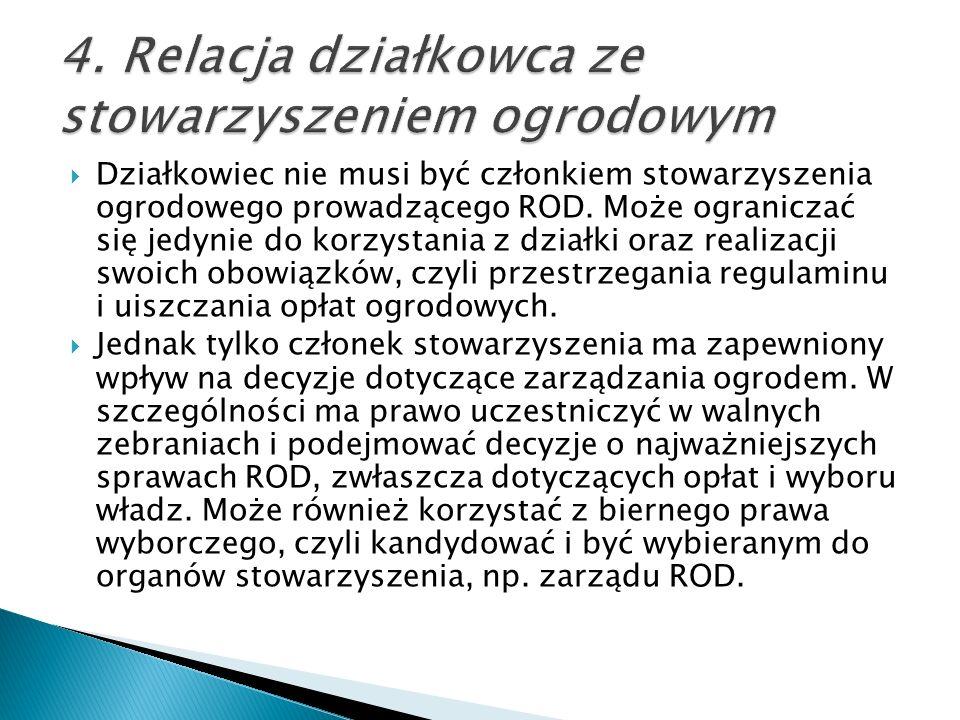 Ustawa utrzymała prawa działkowców w przypadku likwidacji ROD.
