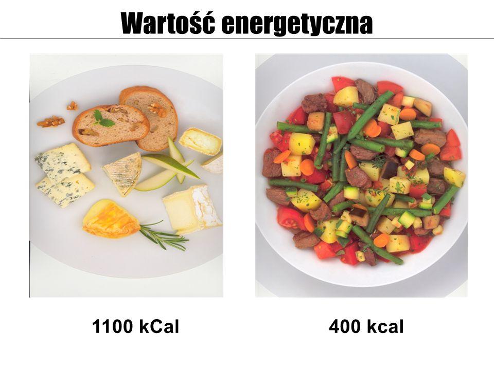 1100 kCal400 kcal Wartość energetyczna