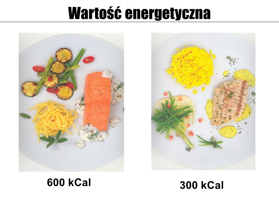 600 kCal 300 kCal Wartość energetyczna