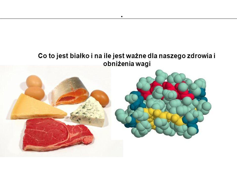 Co to jest białko i na ile jest ważne dla naszego zdrowia i obniżenia wagi.