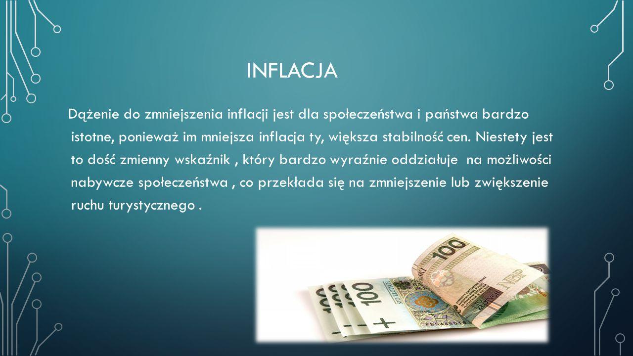 INFLACJA Dążenie do zmniejszenia inflacji jest dla społeczeństwa i państwa bardzo istotne, ponieważ im mniejsza inflacja ty, większa stabilność cen. N