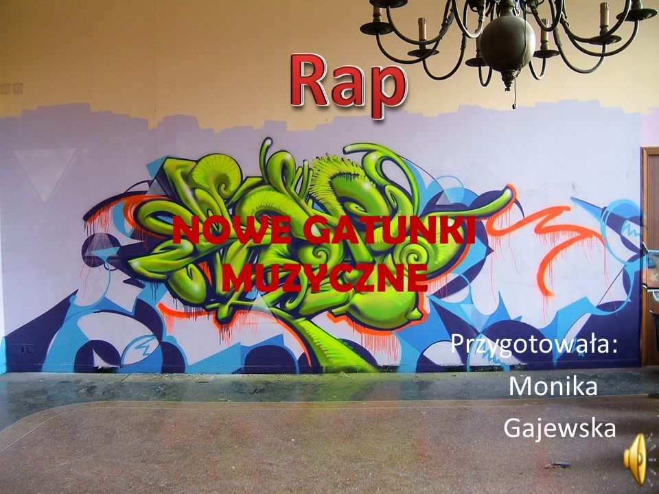Rap – miejska kultura i gatunek muzyczny powstały w afroamerykańskich społecznościach w Nowym Jorku w latach siedemdziesiątych XX wieku.