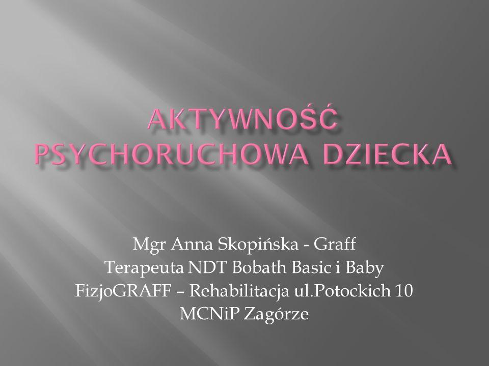 Mgr Anna Skopińska - Graff Terapeuta NDT Bobath Basic i Baby FizjoGRAFF – Rehabilitacja ul.Potockich 10 MCNiP Zagórze