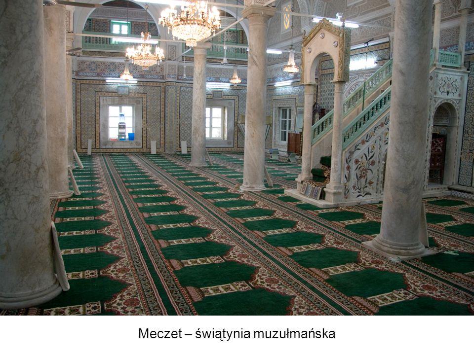 Meczet – świątynia muzułmańska