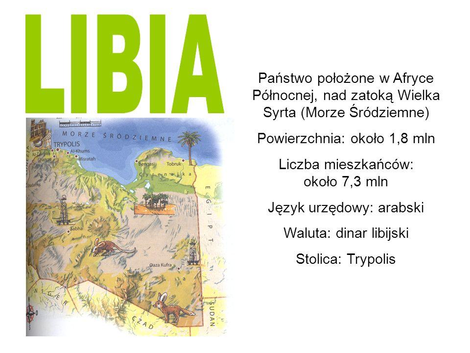 Herb i flaga Libii Flagą Libii jest sama zieleń, ulubiony kolor Islamu