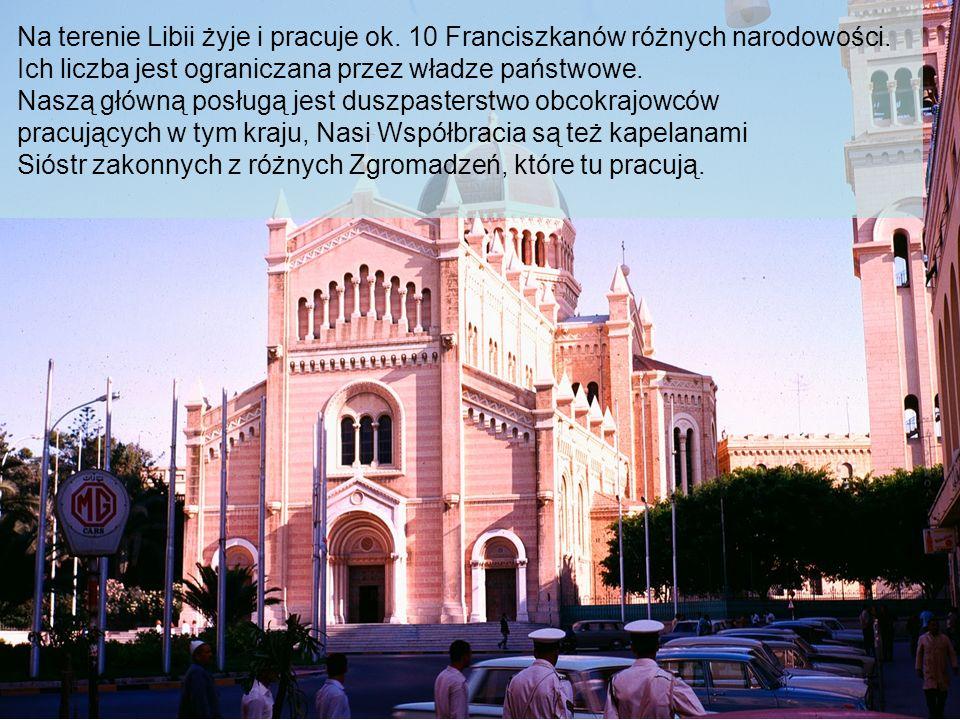 Na terenie Libii żyje i pracuje ok.10 Franciszkanów różnych narodowości.