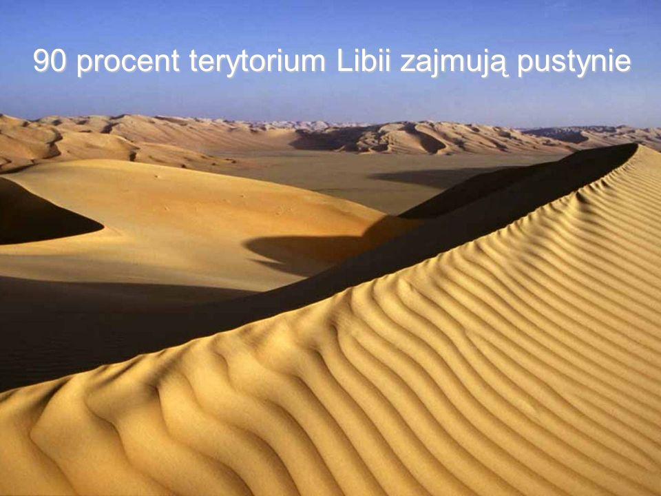 Libia posiada znaczne zasoby wód, które znajdują się pod ziemią, ukryte pod piaskami pustyni.