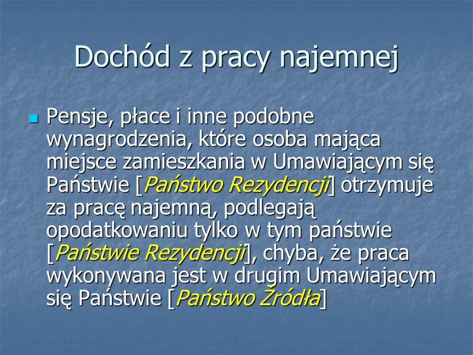 Kazus Pan Jan Kowalski jest zatrudniony w polskiej firmie budowlanej.