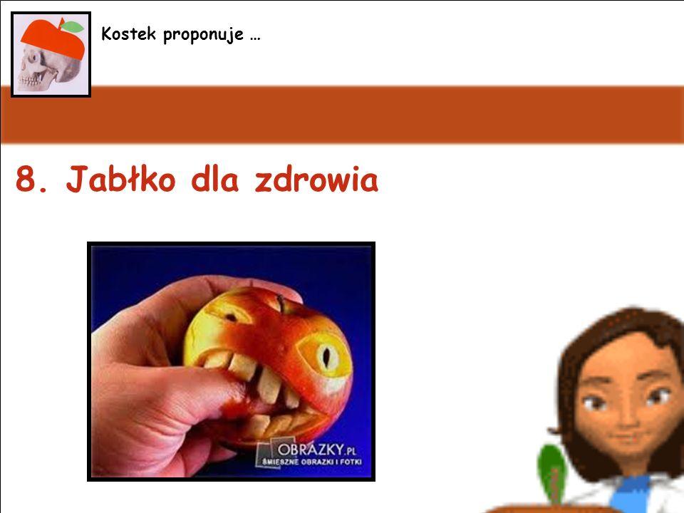 8. Jabłko dla zdrowia