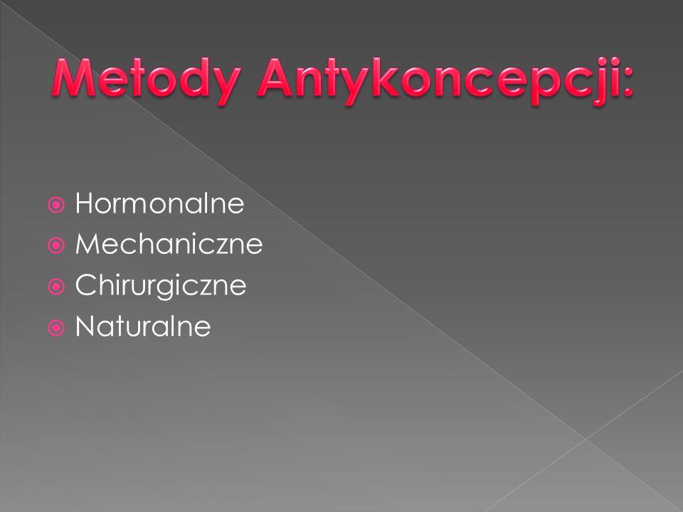 Hormonalne Mechaniczne Chirurgiczne Naturalne
