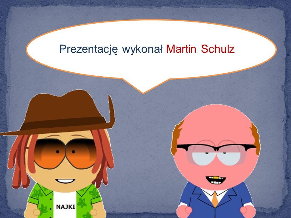 Prezentację wykonał Martin Schulz