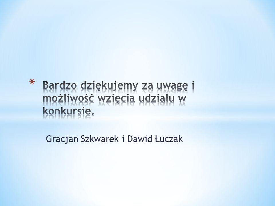 Gracjan Szkwarek i Dawid Łuczak