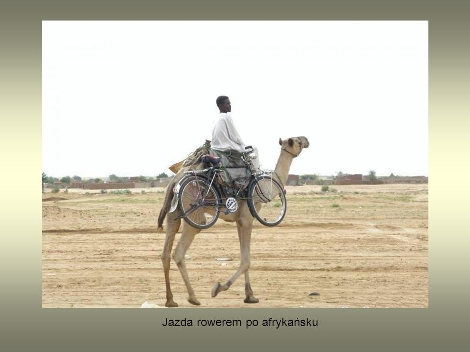 Jazda rowerem po afrykańsku