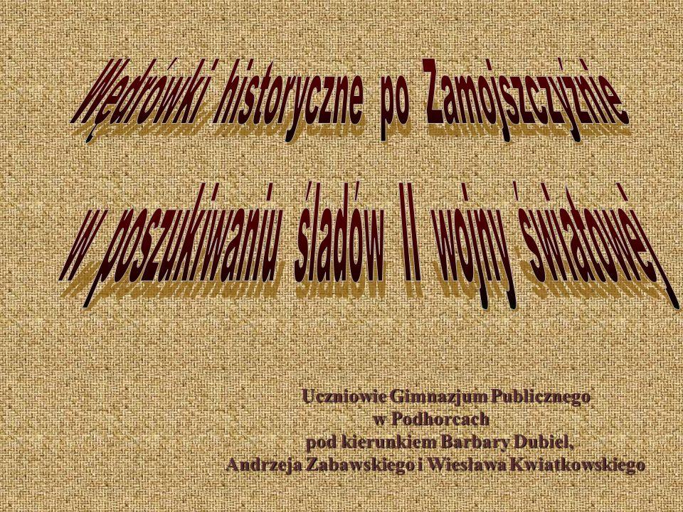 Pan Henryk Majdański z Typina ( czternastoletni chłopak w chwili wybuchu wojny ) opowiada: W 1939 roku zamknięto szkoły.