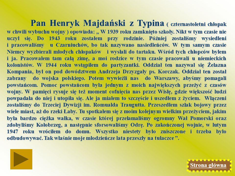 Pan Antoni Stępora z Podhorzec wspomina: Pracowałem w Bełżcu przy skupie ziemniaków.