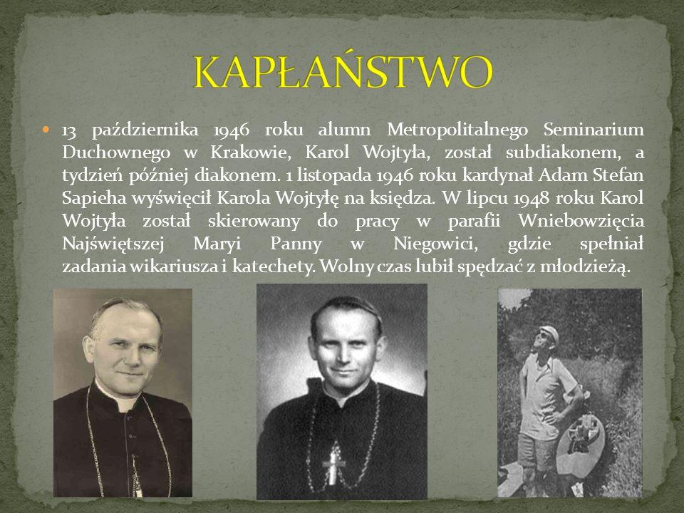 Karol Wojtyła umarł 2 kwietnia 2005 r.Pogrzeb Jana Pawła II odbył się w piątek 8 kwietnia 2005 r.