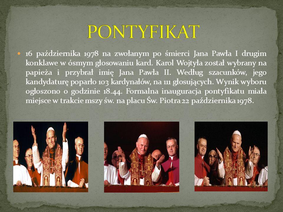 Głównym wykładnikiem pontyfikatu Wojtyły były pielgrzymki.