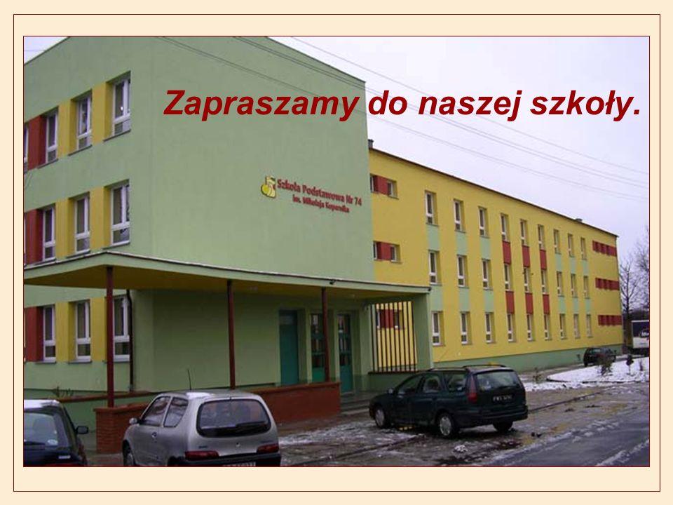 Zapraszamy do naszej szkoły.
