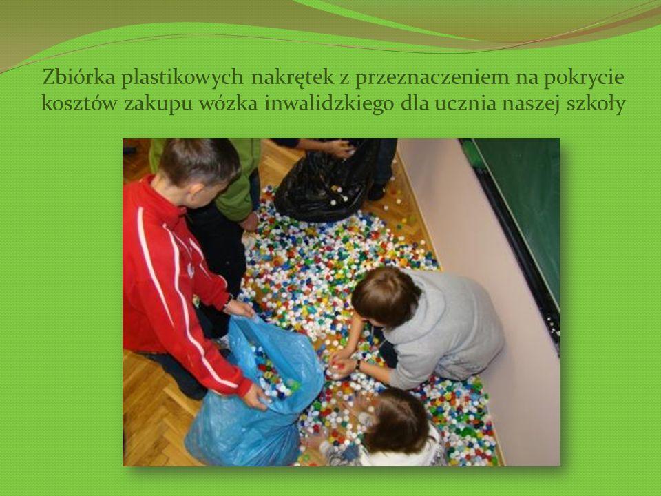DZIAŁANIA UCZNIÓW KLAS I – III GIMNAZJUM Konkurs na plakat promujący zasady postępowania ekologicznego