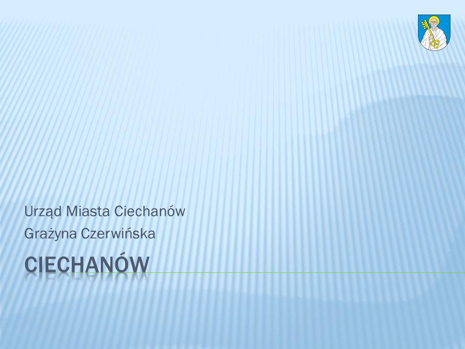 Urząd Miasta Ciechanów Grażyna Czerwińska