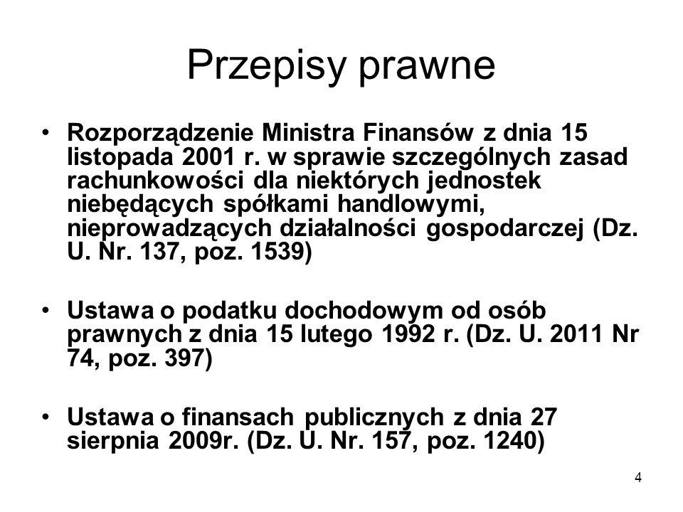5 Przepisy prawne Ustawa Prawo zamówień publicznych z dnia 29 stycznia 2004 r.