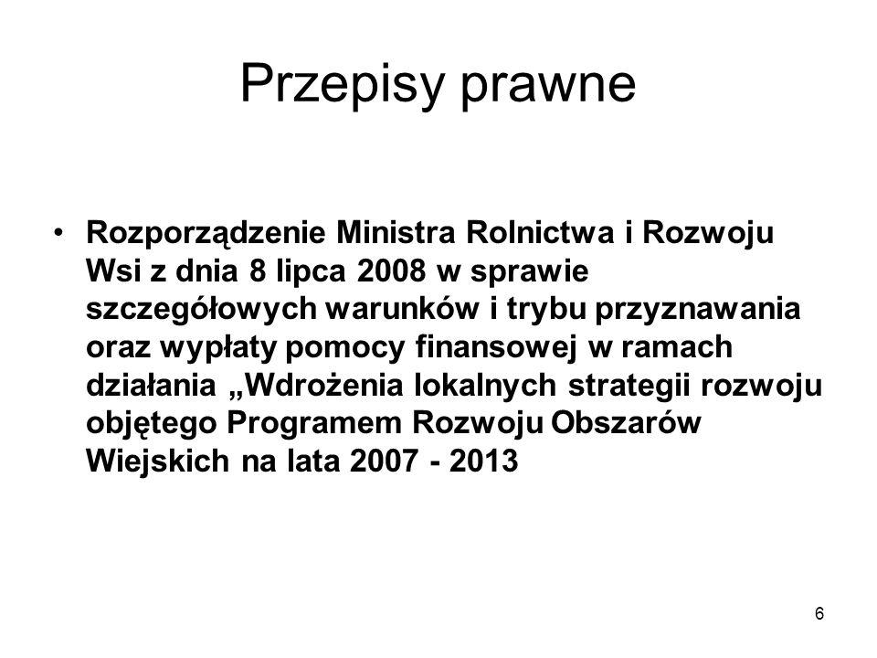 7 Przepisy prawne Rozporządzenie Ministra Pracy i Polityki Społecznej w sprawie rocznego sprawozdania merytorycznego z działalności organizacji pożytku publicznego z dnia 23 marca 2011 r.