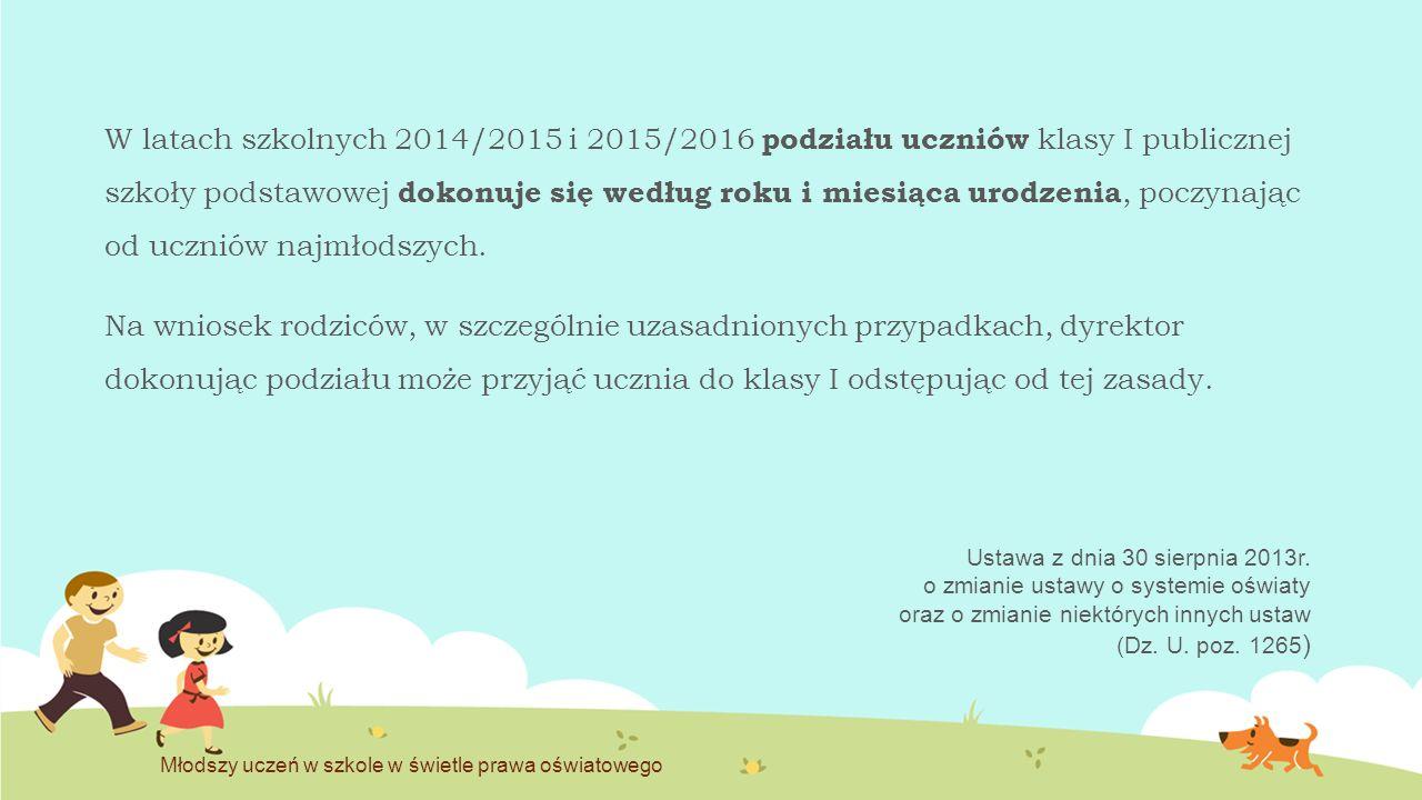 Podstawa programowa kształcenia ogólnego (z 27 sierpnia 2012r.) Znajomość podstawy programowej wychowania przedszkolnego – nauczyciele klasy I.