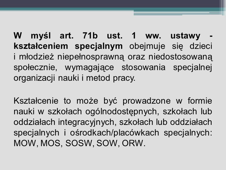 W myśl art.71b ust. 1 ww.