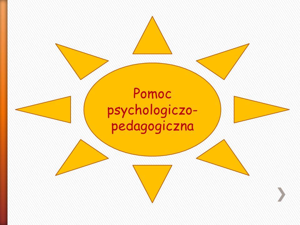 Pomoc psychologiczo- pedagogiczna