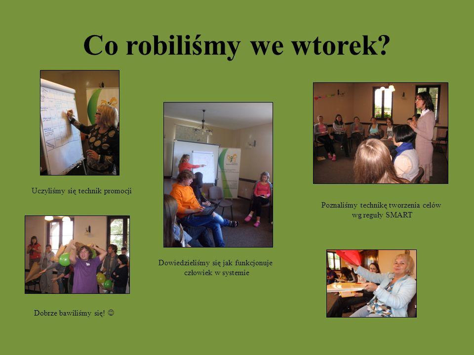Wtorek Zwiedzaliśmy Lublin Byliśmy w Fundacji Rozwoju Wolontariatu