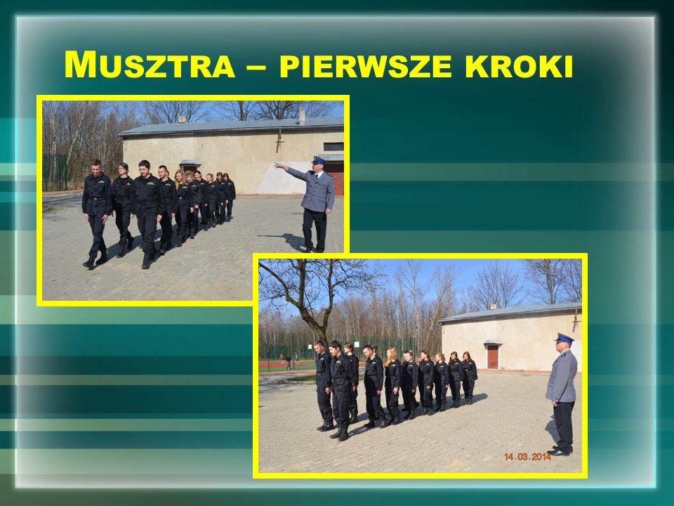 W ROKU SZKOLNYM 2014 / 2015 N OWOŚĆ !!! K LASA S TRAŻACKA klasa mundurowa